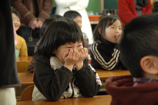 教室の子ども