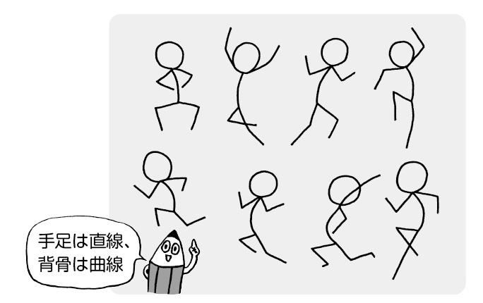 の イラスト 動き ある 【漫画・イラスト】魅力ある構図の作り方!実践的な例11パターン