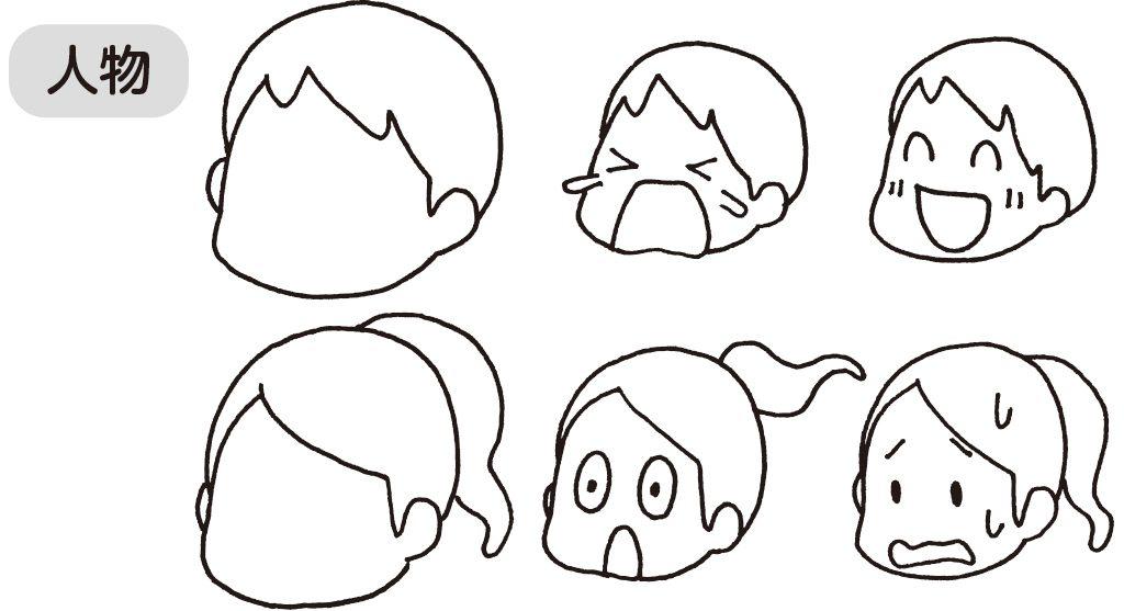 人物の表情