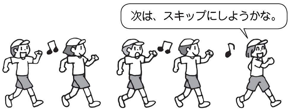 まねっこジョギング