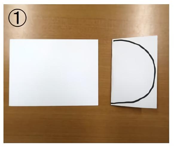 折り紙あじさいの作り方・ベース