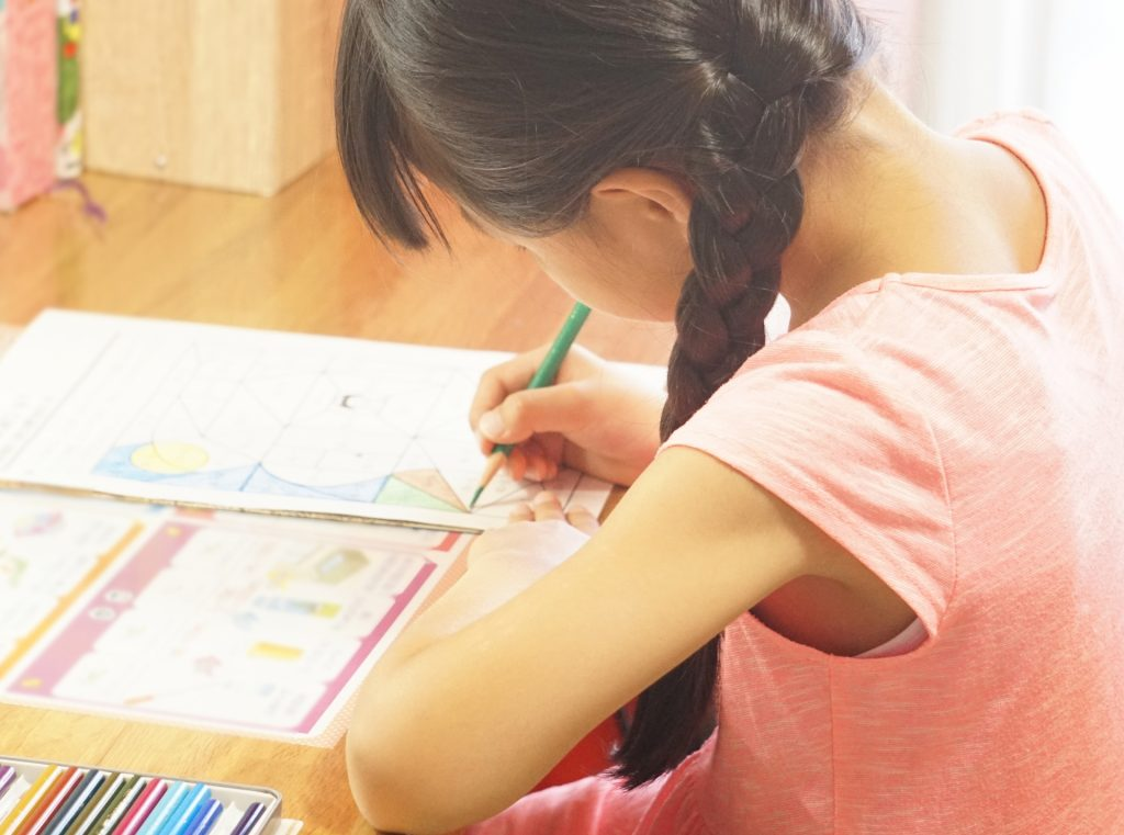 自分で学習する子ども