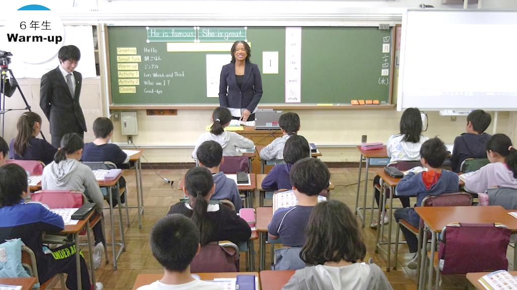 外国語授業