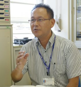 新潟市教育委員会指導主事・間嶋雅樹