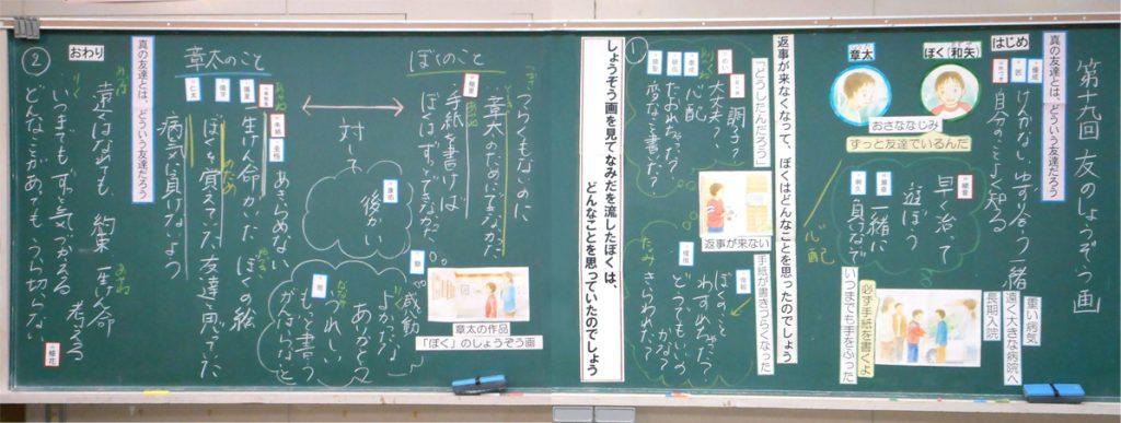 授業前の板書計画