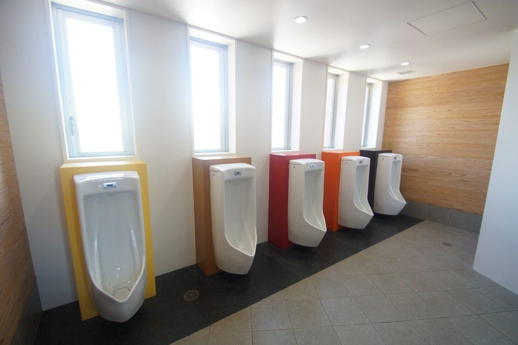 「行きたくなるトイレ」になった高学年のトイレ。