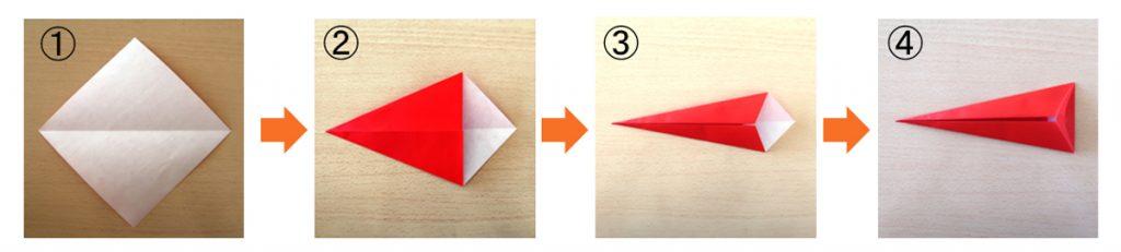 赤とんぼの体の作り方