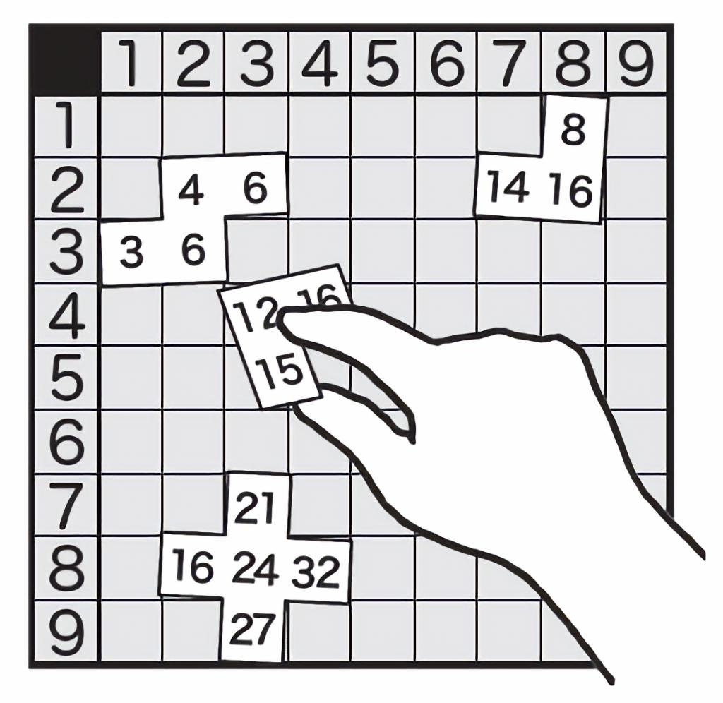 九九表パズル