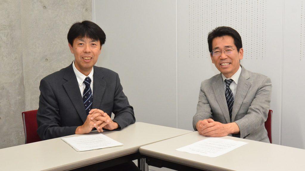 島恒夫先生と浅見哲也さん