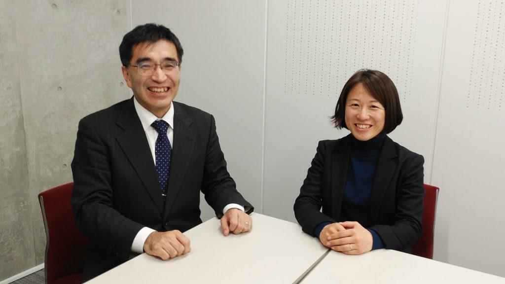 笠井さんと増本さんの写真