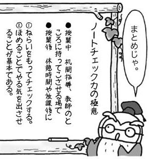 「ノートチェック力の極意」のまとめ1/2