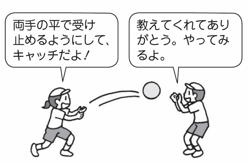 両手で投げよう