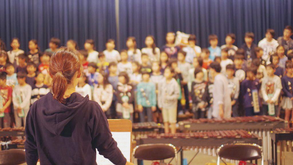 音楽の授業で学級づくり