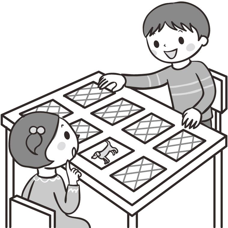 漢字でカード合わせゲーム