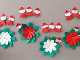 折り紙で教室を華やかに【12月編】クリスマス