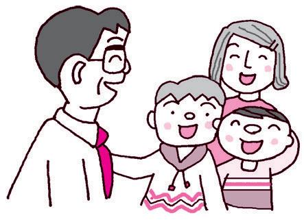 先生と子供たち