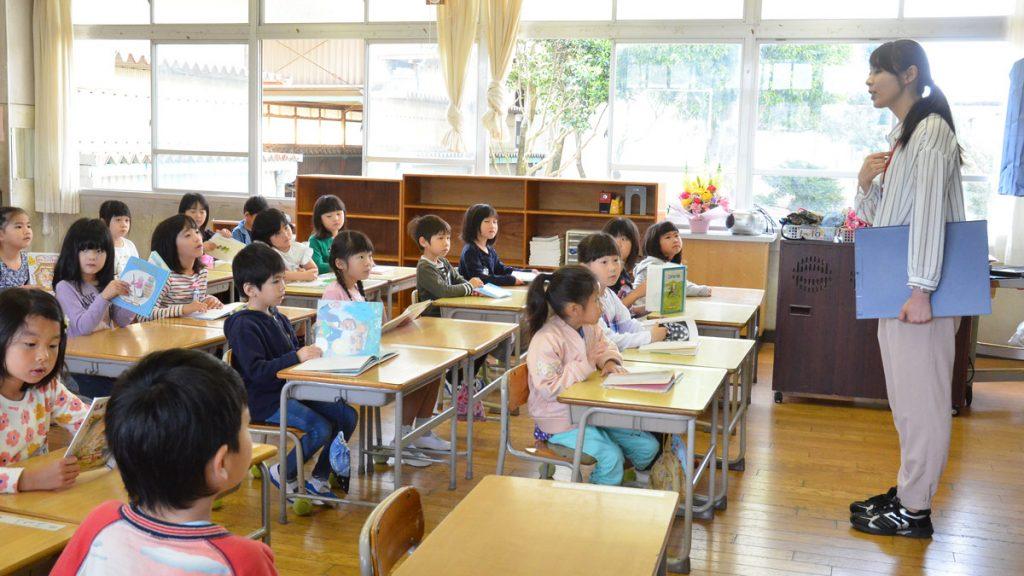国語の授業風景イメージ
