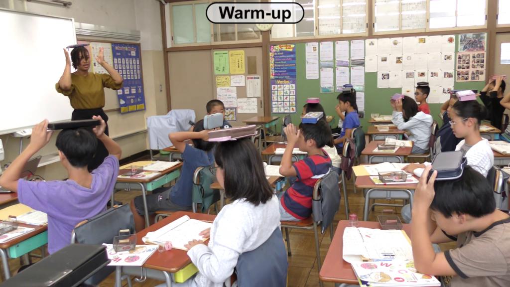小五外国語授業動画