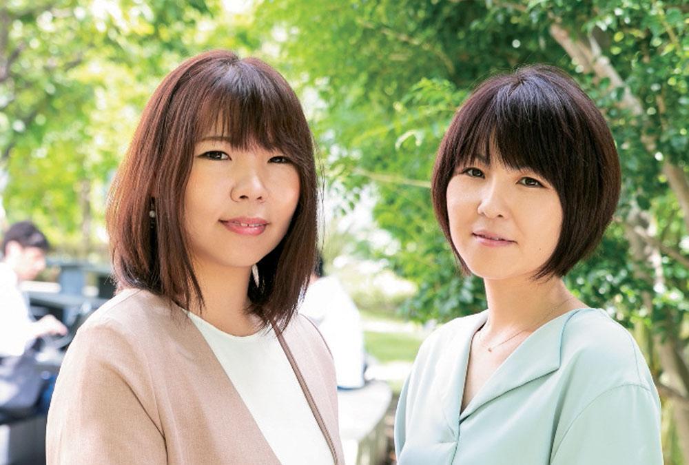 左)樋口綾香 先生 右)岡本美穂 先生