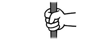 鉄棒の握り方|横から握る時