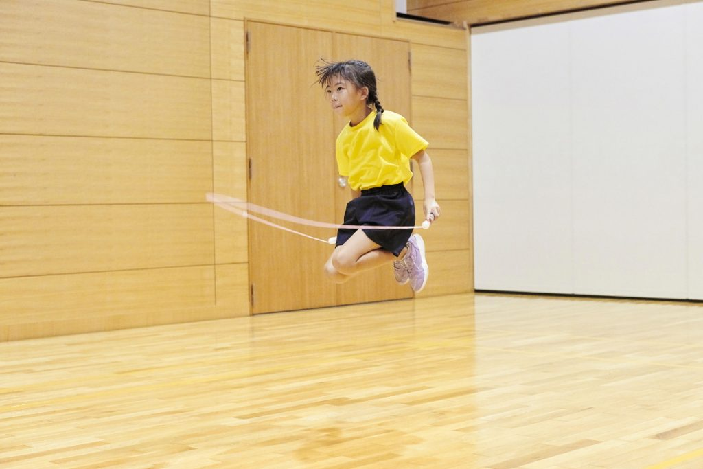 二重跳びが跳べるようになる指導