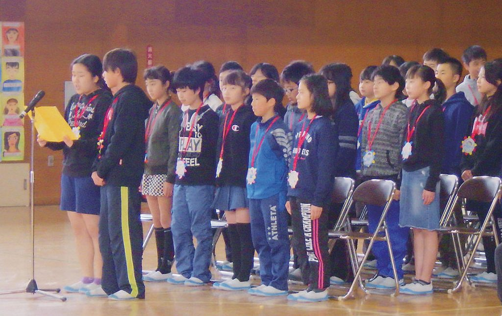 6年生の各クラス紹介