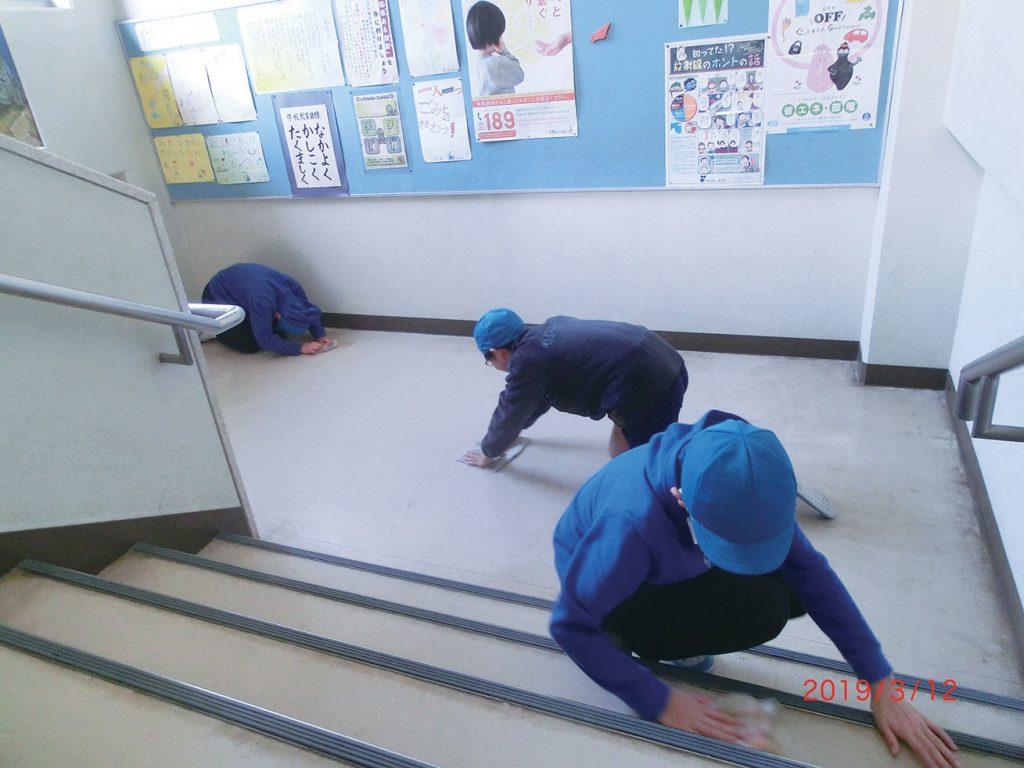 校舎清掃-1