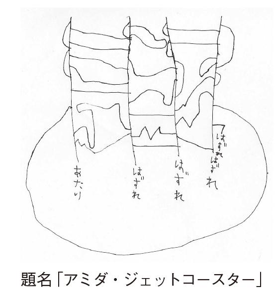 アミダ・ジェットコースター