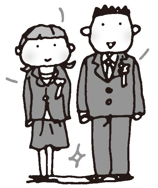 入学式にふさわしい服装