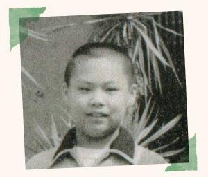 6年生のころの長谷川義史さん