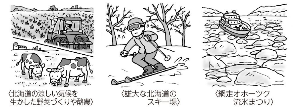 北海道の暮らしや産業など