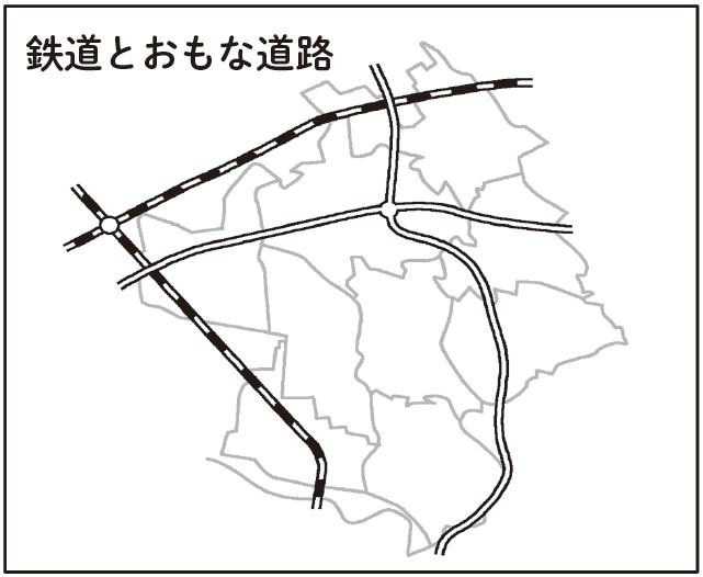 2つの地図を比較してみる_地図1