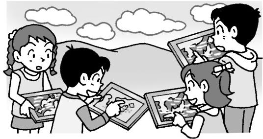 雲の状態と天気の関係について調べる