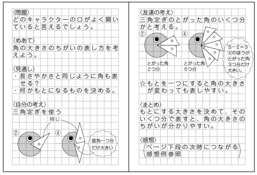 子供のノート例
