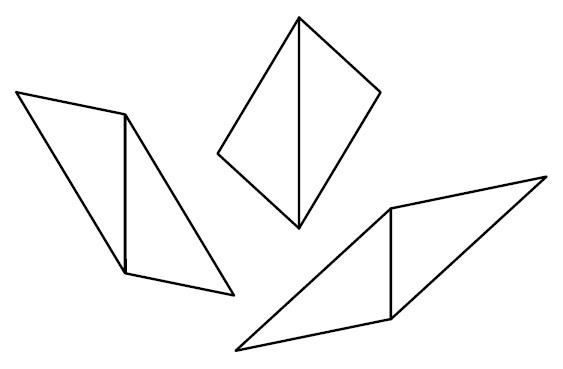 点対称な図形