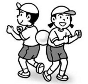 ボール運び