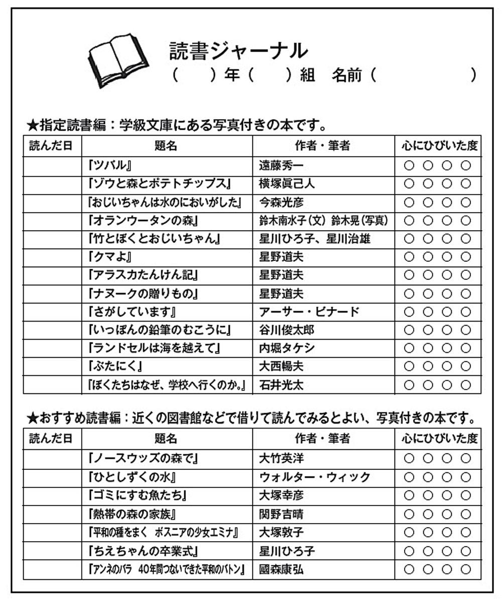 資料1読書ジャーナル