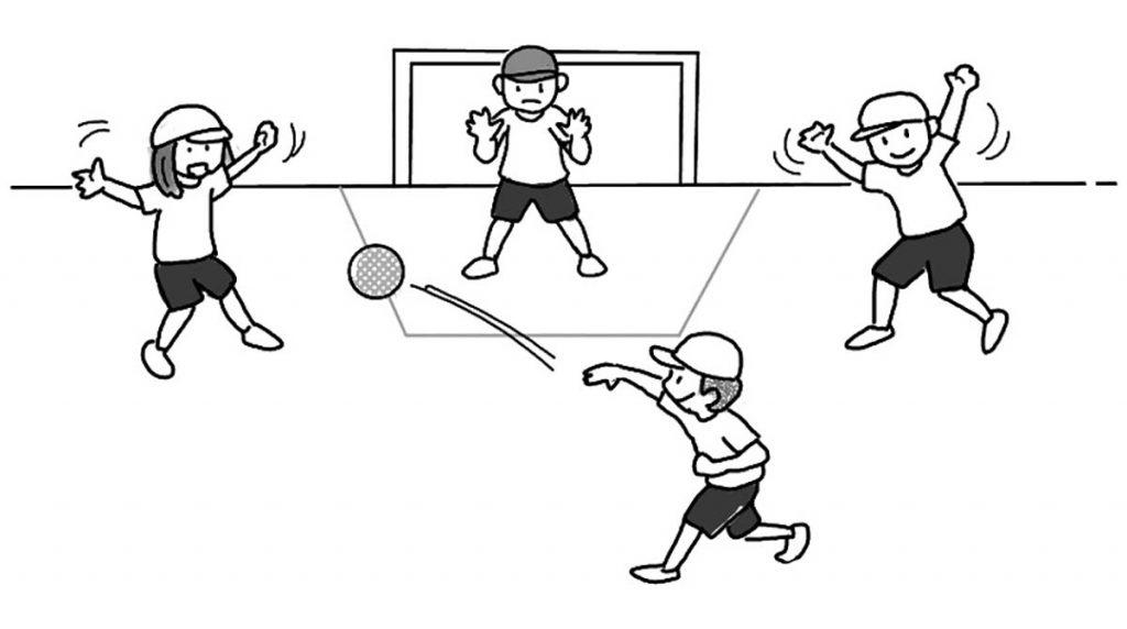 小5体育「ボール運動(ゴール型)」指導のポイント