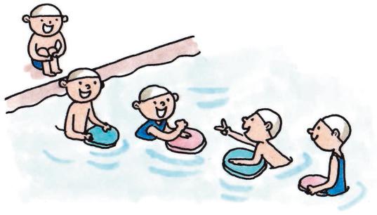 安全第一の小3・小4「水泳指導」アイデア集