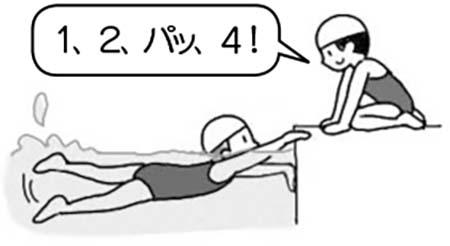 1,2、パッ、4!