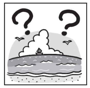 「海」の漢字を図で示したイラスト