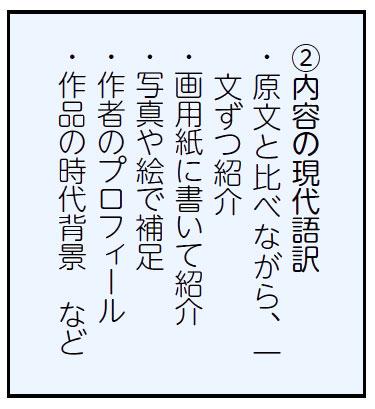 ②内容の現代語訳
