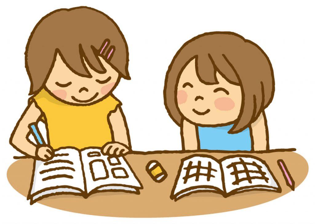 小4国語「詩を楽しもう・カンジーはかせの漢字しりとり」指導アイデアのイメージイラスト