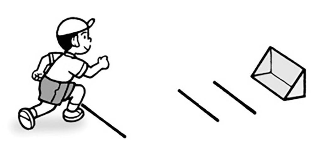 小4体育「小型ハードル走」指導のポイント