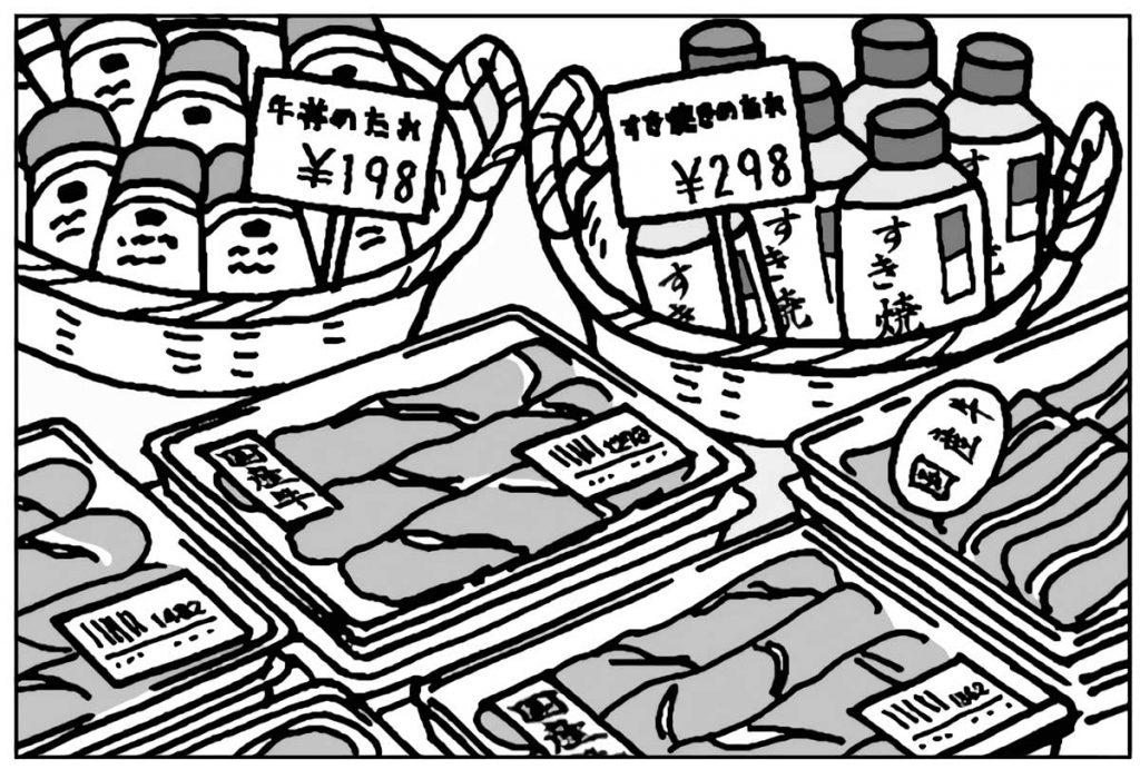 売り場の商品配置