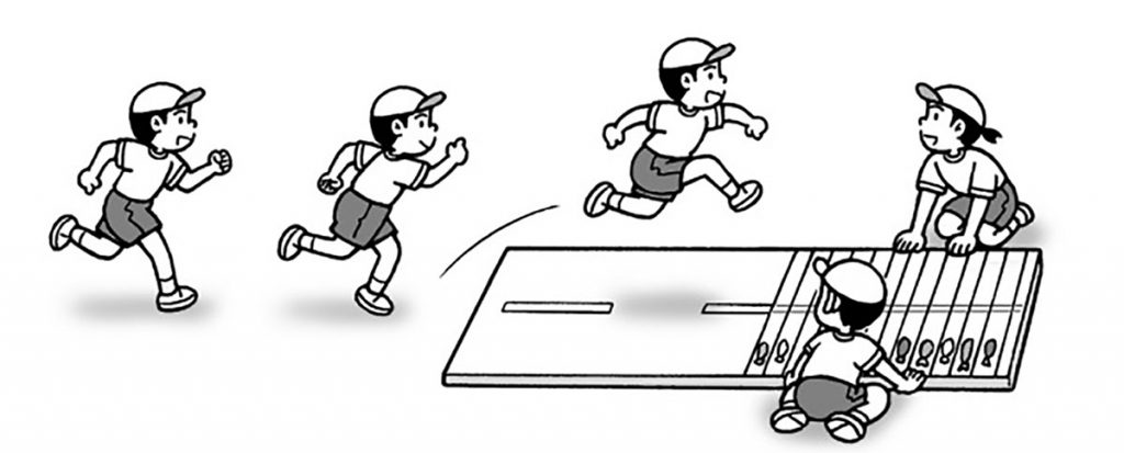 小3体育「走・跳の運動(幅跳び)」指導のポイント