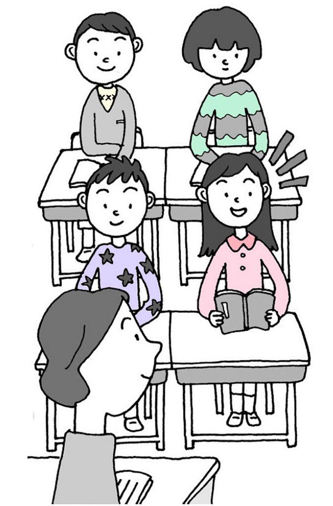 「自分の読み」という見方・考え方を働かせて、その子らしく朗読を創っていくことができる環境を整えるのです。