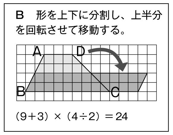 面積の求め方B