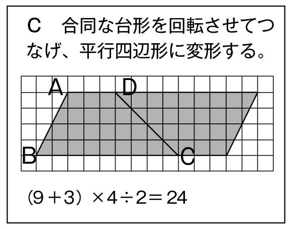 面積の求め方C