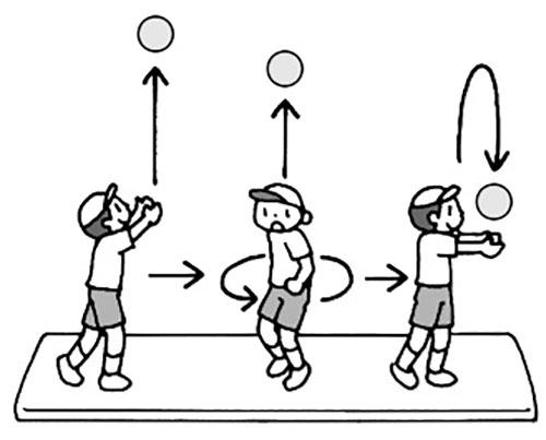 〈巧〉回転ボールキャッチ